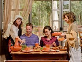 """מסעדת מן החוויה התנ""""כית קבוצת כנרת, מתחם ירדנית"""