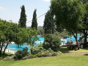 הבריכה במלון צובה