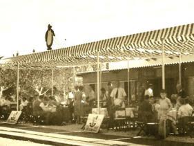 מסעדת פינגווין בשנות החמישים