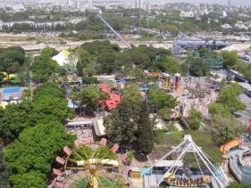 לונה פארק בתל אביב מבט מלמעלה
