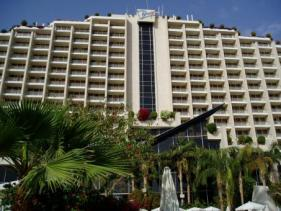 חזית מלון דן אילת