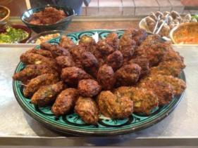 קציצות בשר במסעדת גואטה