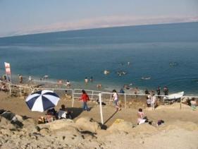 חוף עין בוקק בים המלח