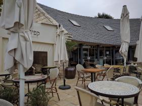 מסעדת קפית בגן הבוטני - המרפסת