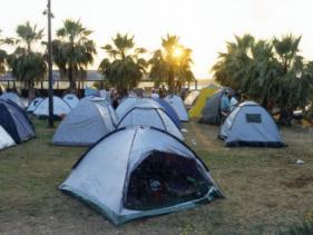 מונפורטויטו - חוות סוסים, חניון לילה, קמפינג