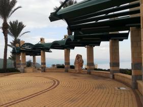 מצפה עדי מעל הכנרת בטבריה לזכר החייל עדי אביטן