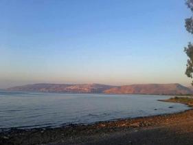 חוף ספירית בכנרת