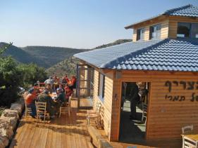 הצריף של תמרי בית קפה בשומרון